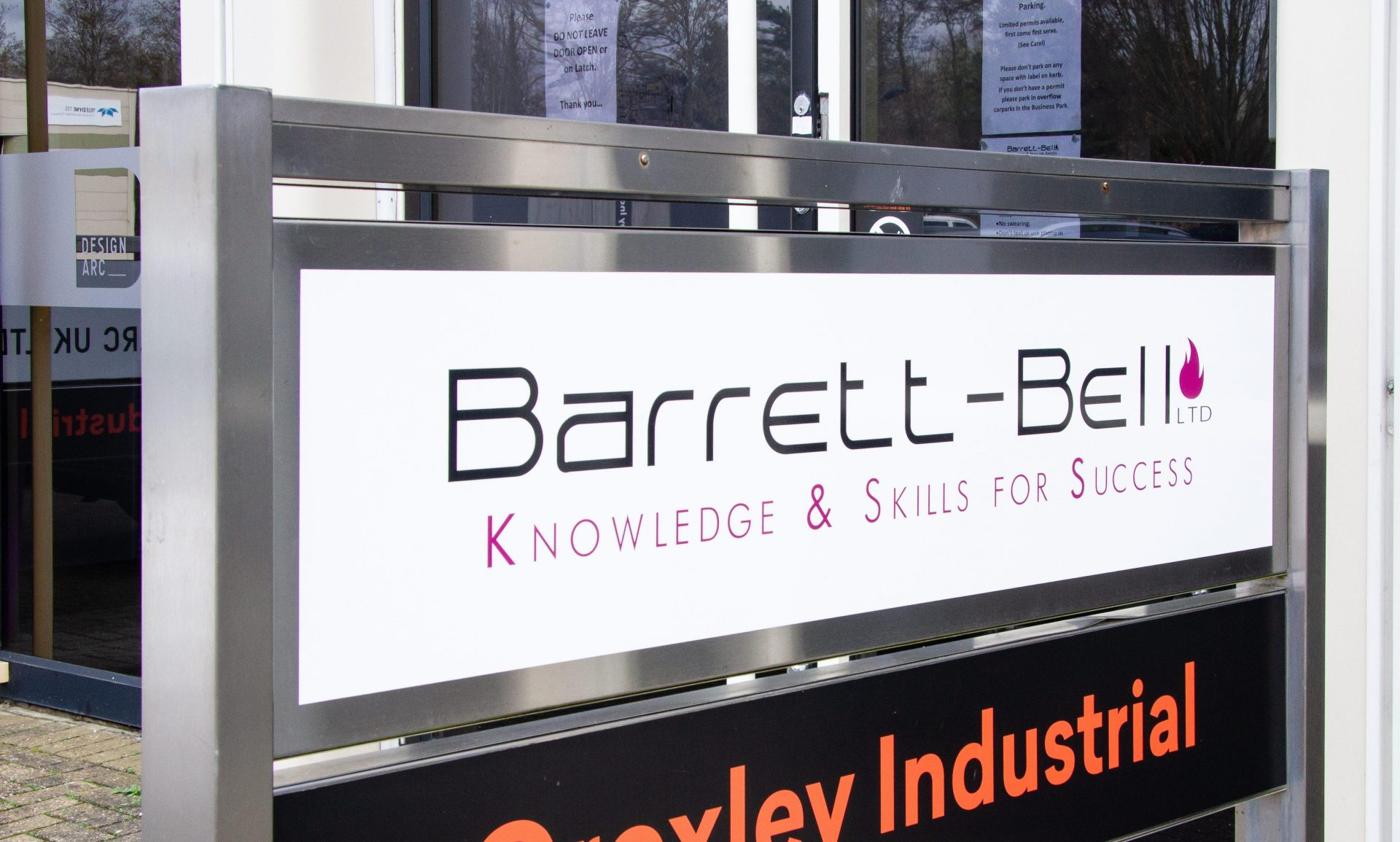 Barrett Bell, giving you the knowledge and skills for success