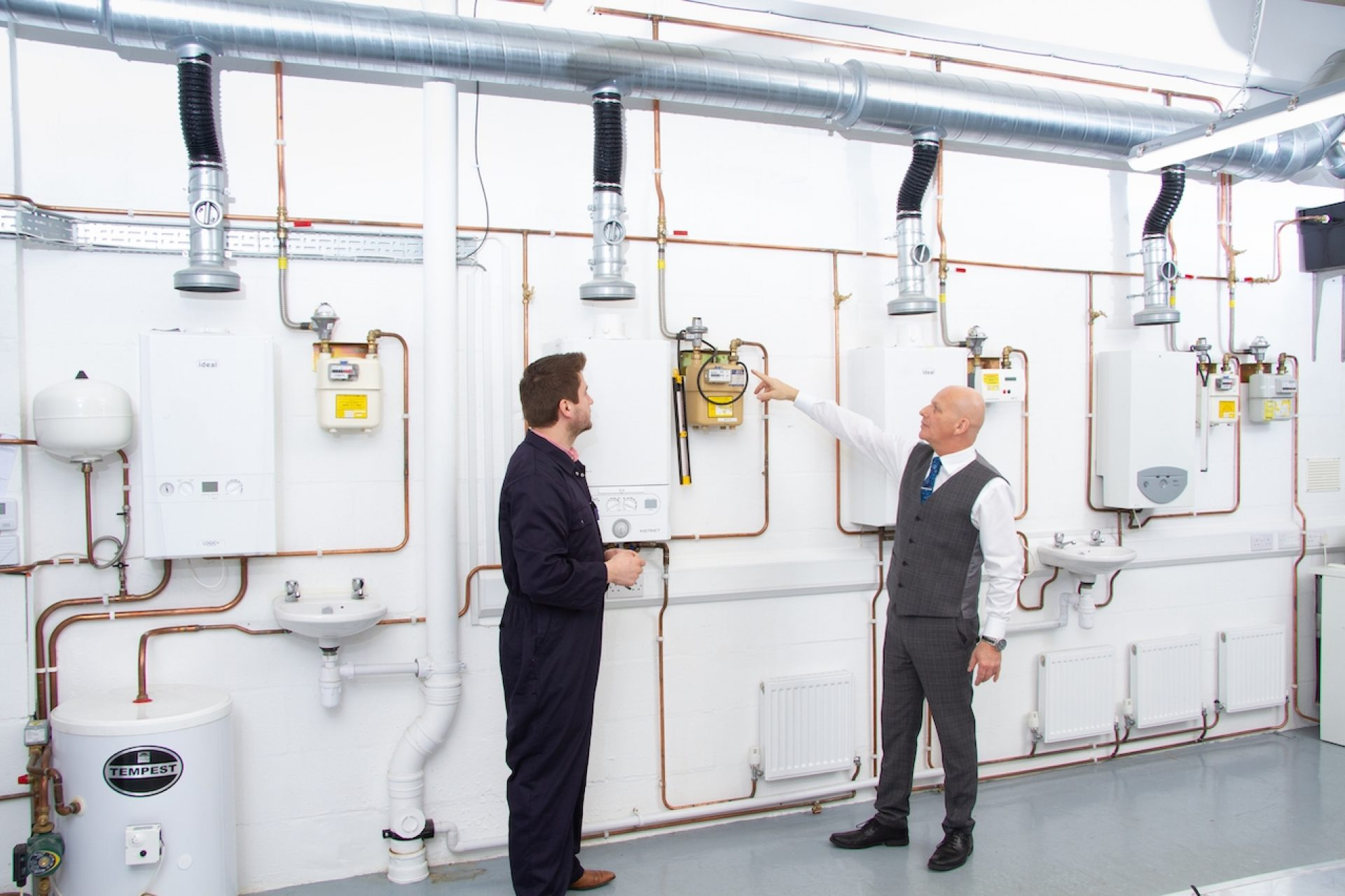 We are one of only a few training organisations in the UK who offer the Level 3 Gas Diploma for new entrants to the gas industry.