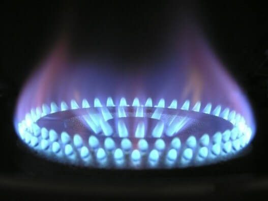 Gas Ring Flames