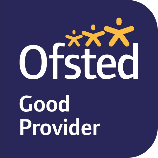 Good Provider rating badge by Ofsted